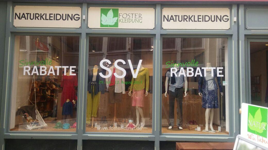 Sommerschlussverkauf bei Foster Naturkleidung