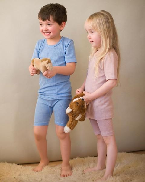 Cosilana, Unterhemd kurzarm, Wolle Seide Baumwolle, 3 Farben