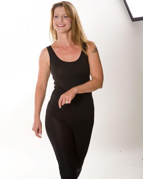 Damen Trägerhemd, KokonZwo, Baumwolle Seide, 2 Farben