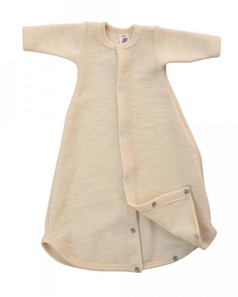 Baby Schlafsack Frottee, Engel Natur, 100% Wolle (kbT)