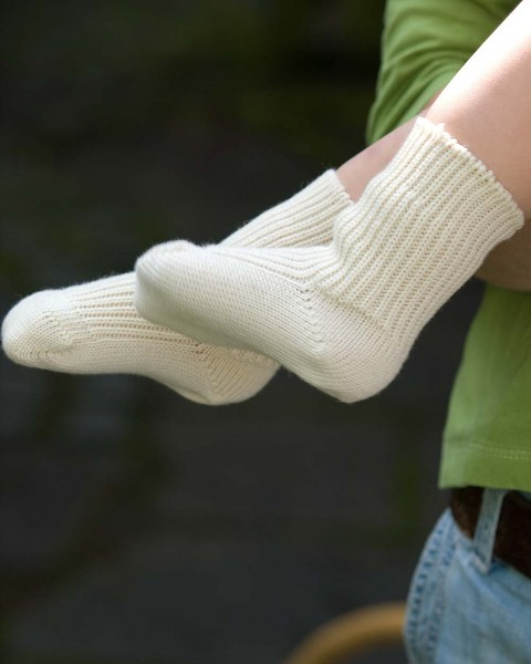 Baby Socken, Grödo, 100% Wolle (kbT)