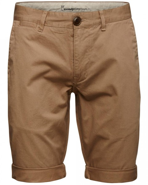 KnowledgeCotton, Chino Shorts, 100% Baumwolle (kbA)