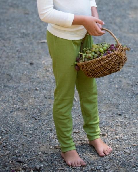 Cosilana, Kinder-Leggings, 70 % Wolle (kbT) 30 % Seide, 6 Farben