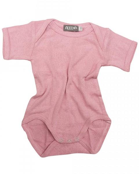 Baby Body kurzarm, Alkena, 100% Seide (Bourrette)