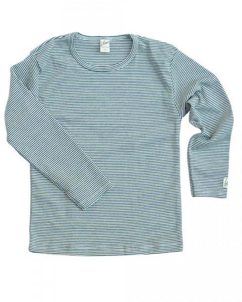 Kinder Shirt langarm, Lilano, Baumwolle Seide