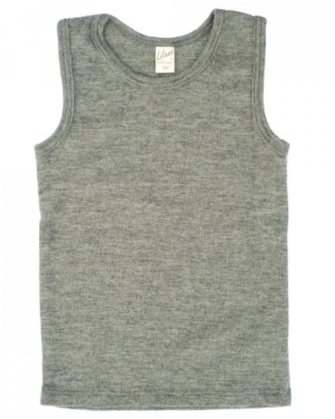 Lilano, Kinder Achsel Shirt, 70% Wolle (kbT), 30% Seide