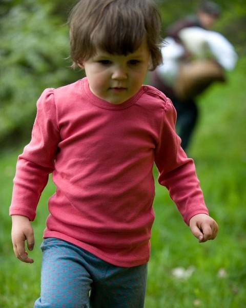 Baby Shirt mit Raffung, Leela Cotton, 100% Baumwolle (kbA)