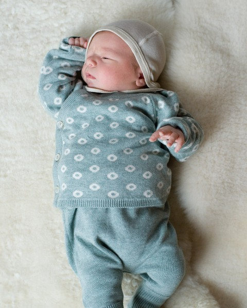 Puri, Baby Wickelpulli / Kimono, 80% Baumwolle (kbA), 20% Seide