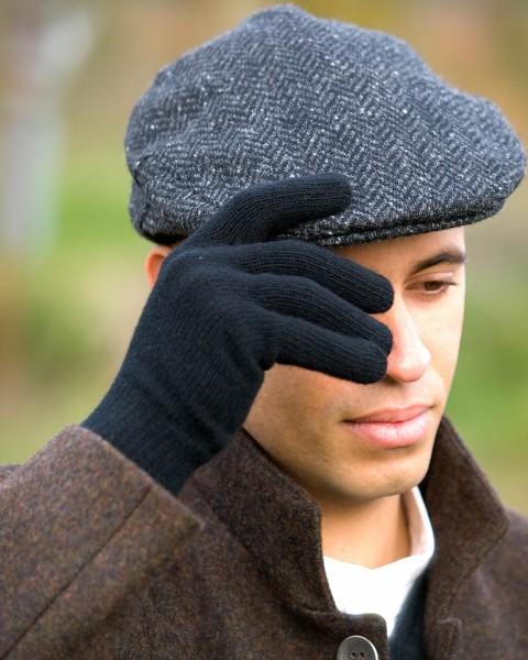 Herren Fingerhandschuhe, Ganterie, 100% Wolle, 3 Farben