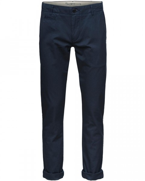 KnowledgeCotton, Chino Hose, 100% Baumwolle (kbA)