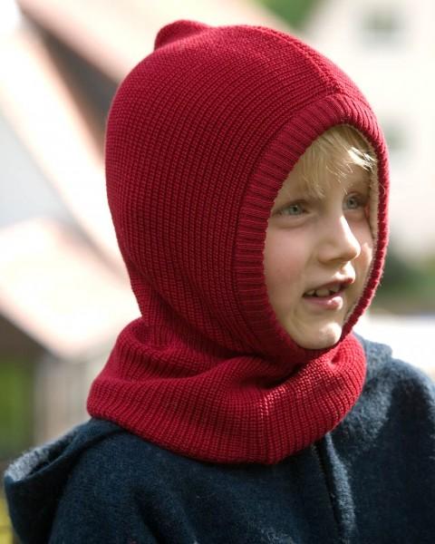 Kinder Schlupfmütze dick, Relax, Wolle Baumwollfutter, 4 Farben