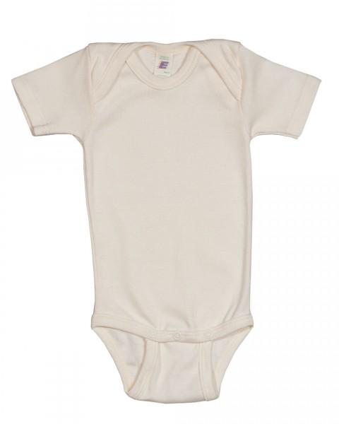 Baby Body kurzarm, Engel Natur, 100% Baumwolle (kbA)