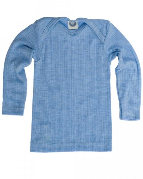 Cosilana, Unterhemd langarm , Baumwolle (kbA) Wolle (kbT) Seide, 6 Farben