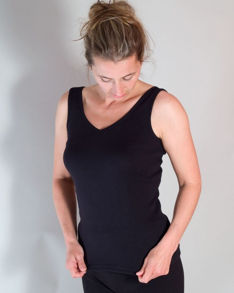 Damen Trägerhemd, Living Crafts, 100% Baumwolle (kbA), 2 Farben