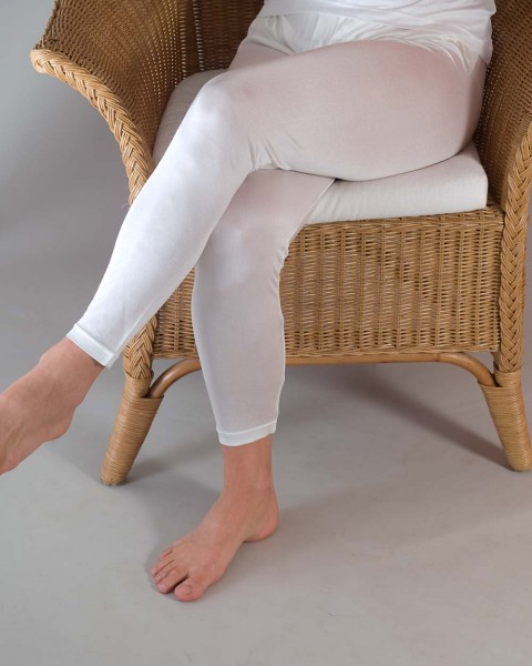 Damen Leggings, Alkena, 100% Seide (kbT), 78 gr./m²