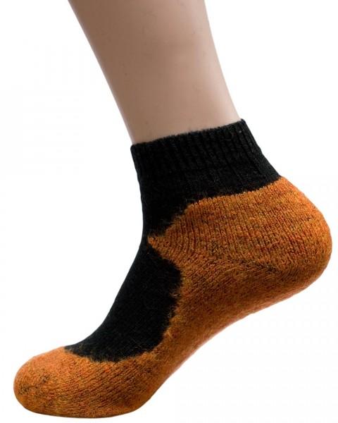 """Sport Sneaker Socken """"Sidney"""", 98% Wolle (kbT), 2% Elasthan mit Naturetexx* Ausrüstung"""