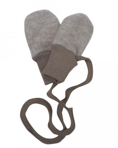Cosilana Baby-Handschuhe, 60 % Wolle 40 % Baumwolle-Fleece