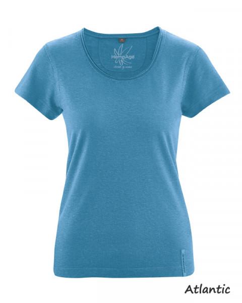 "Damen T-Shirt ""Breeze"", HempAge, Hanf & Baumwolle, viele Farben"