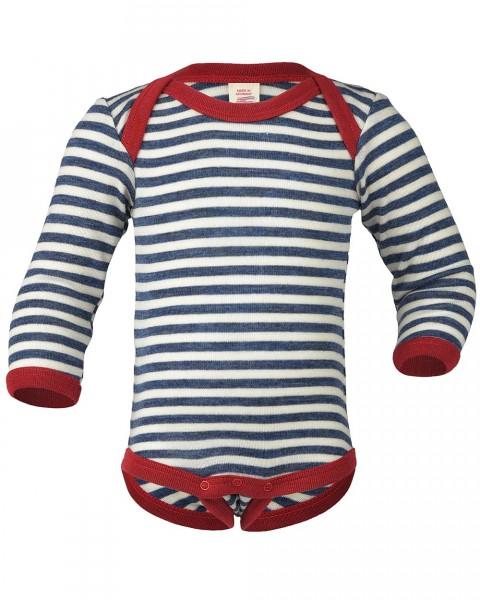 Baby Body langarm, Engel Natur, 100% Wolle (kbT), maschinenwaschbar