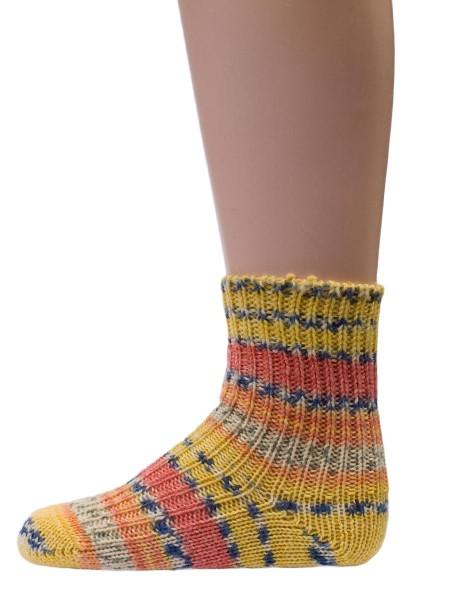 Hirsch Natur, Schafpate Socken, 100% Wolle