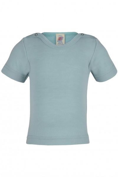 Engel Natur, Baby- und Kleinkind-Shirt kurzarm, 70% Wolle (kbT), 30% Seide