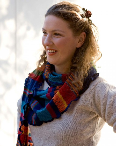 """Damen Schal """"Manu"""" farbig, Invero, 100% Wolle, viele Farben"""