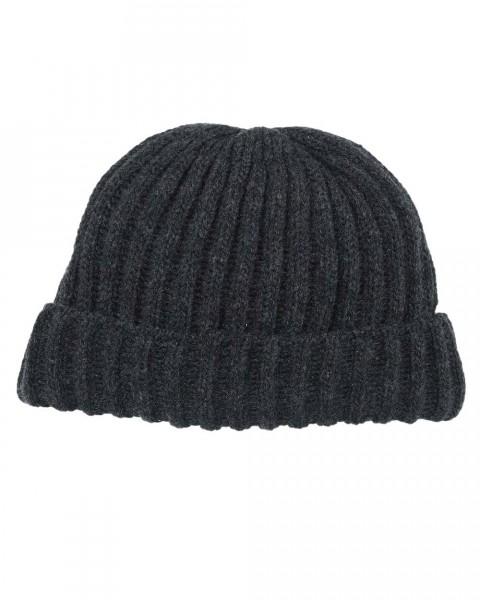 Herren Mütze Dickripp, Ganterie, 100% Wolle, 5 Farben