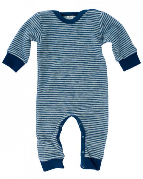 Lilano, Kinder / Baby Overall ohne Fuß, 100% Schurwollfrottee Plüsch