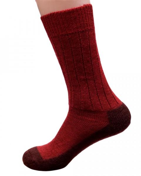 Socken gewalkt, Hirsch Natur, 100% Wolle (kbT), 3 Farben