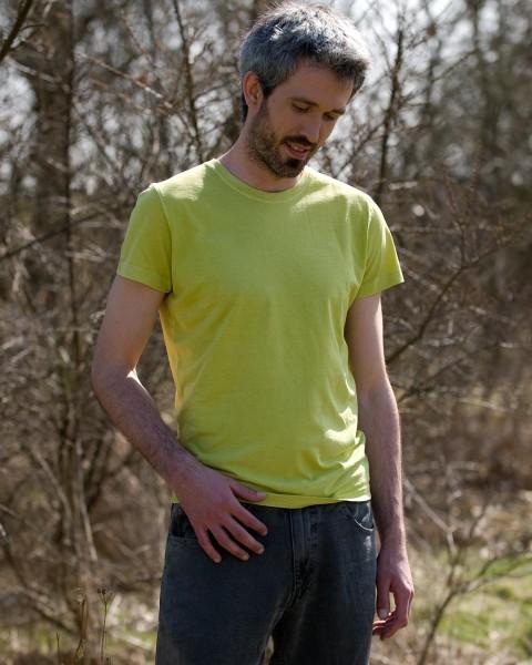 """Herren Schlankes T-Shirt """"Brisko"""", HempAge, Baumwolle Hanf, 3 Farben"""