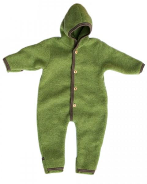Premium Fleece Overall, Foster-Natur, 100% Wolle (kbT)