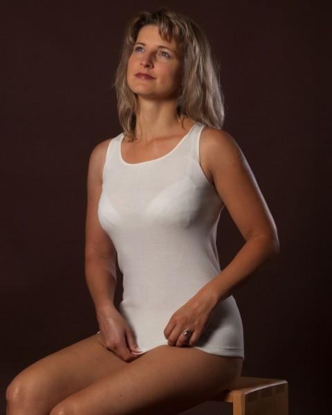 Damen Trägerhemd, Engel Natur, 100% Baumwolle (kbA), 2 Farben