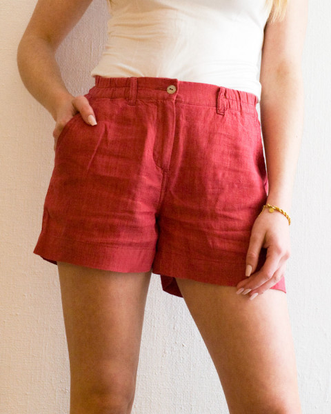 Alma & Lovis, Leinen Shorts, 100% Leinen