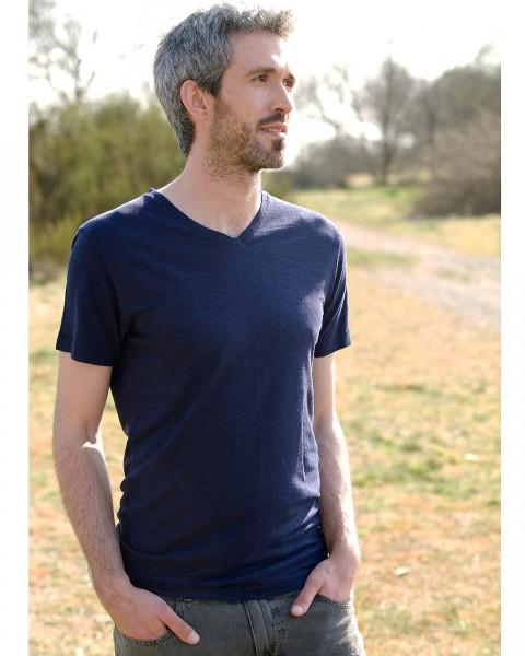 "Herren T-Shirt ""Vince"", HempAge, Hanf Baumwolle, 2 Farben"