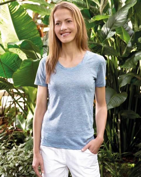 Damen T-Shirt / Shirt, 100% Leinen