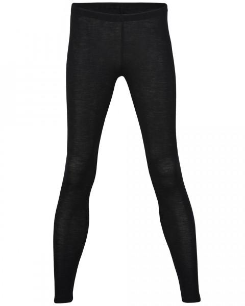 Damen Leggings, 70% Wolle (kbT), 30% Seide