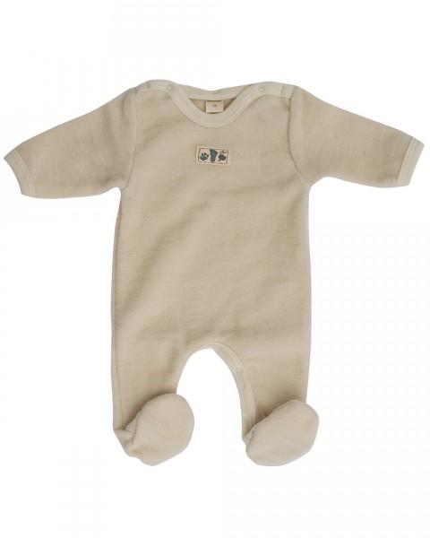 Lilano Baby-Anzug, 100 % Wollfrottee-Plüsch (kbT)