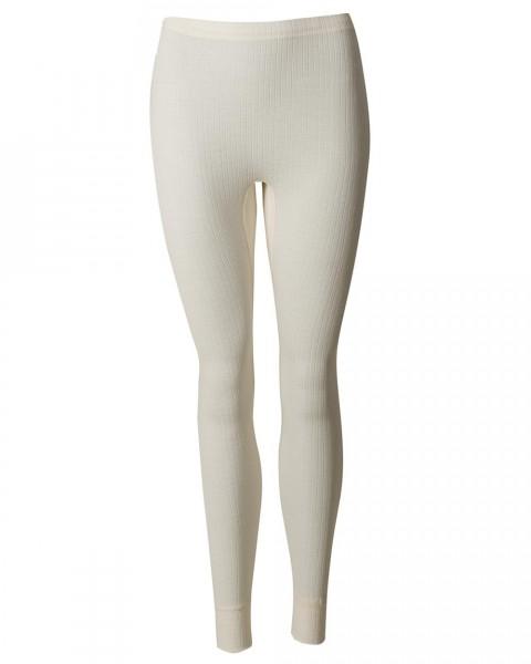 Damen lange Unterhose, 45% Baumwolle (kbA), 35% Wolle (kbT) 20% Seide
