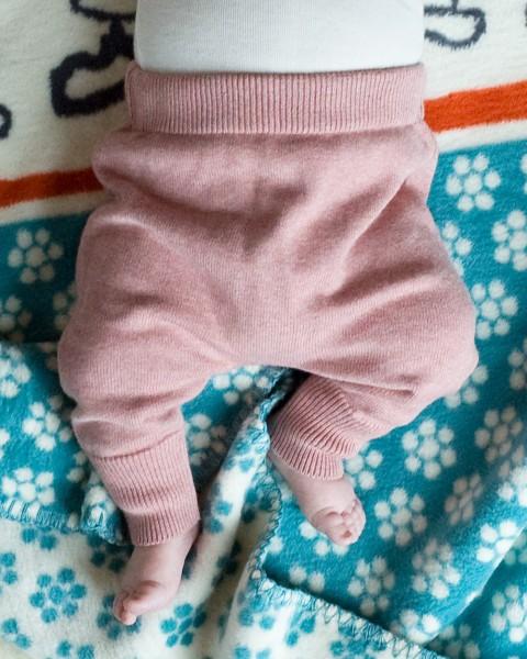 Puri, Baby Hose, 80% Baumwolle (kbA), 20% Seide, 2 Farben