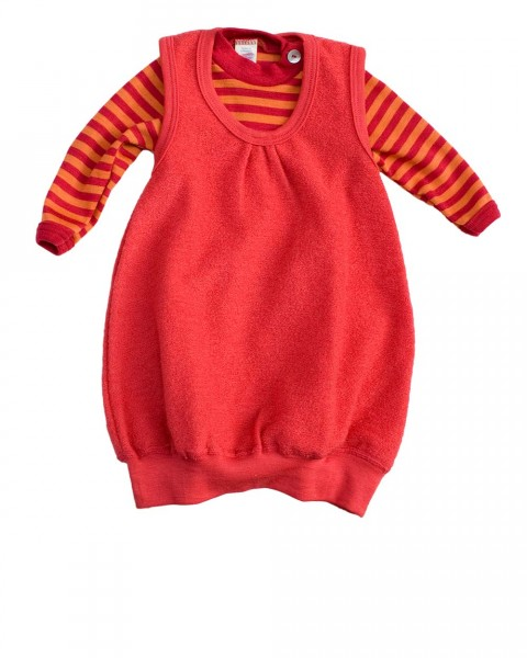 Baby Ballon Kleid, Engel Natur, 100% Wolle (kbT)