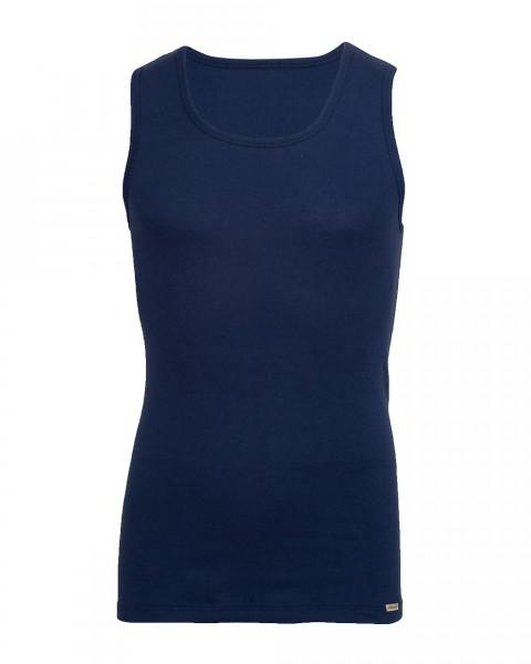 Comazo, Herren Unterhemd ohne Arm, 100% Baumwolle
