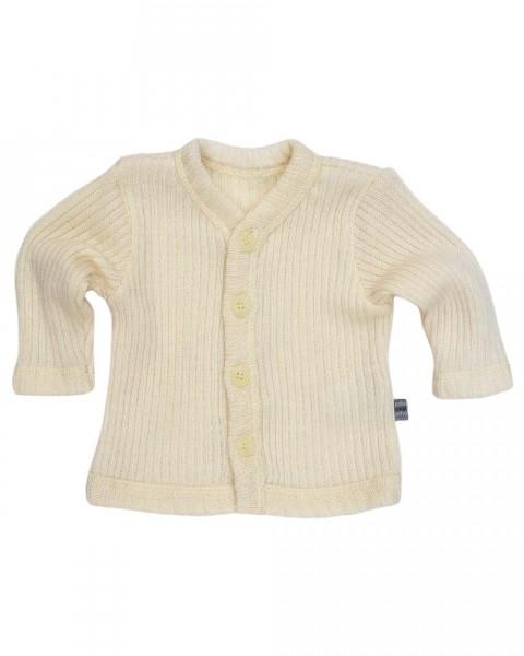 Baby Strickjacke für Frühgeborene, Joha, 100% Wolle