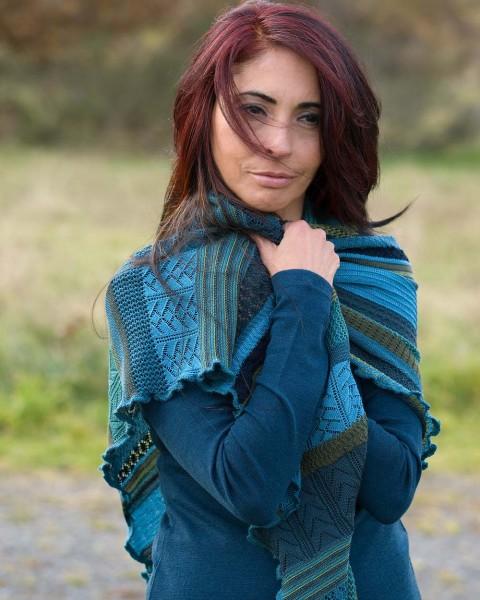 """Damen Dreieckstuch """"Kyra"""", Invero, 100% Wolle, viele Farben"""