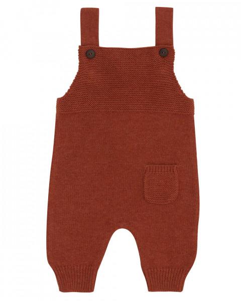 Puri, Baby Latzhose, 80% Baumwolle (kbA), 20% Wolle