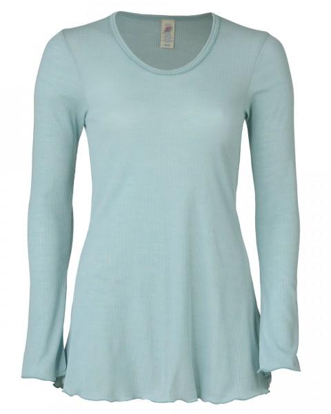 Damen Longshirt, Engel Natur, Wolle Seide, 2 Farben