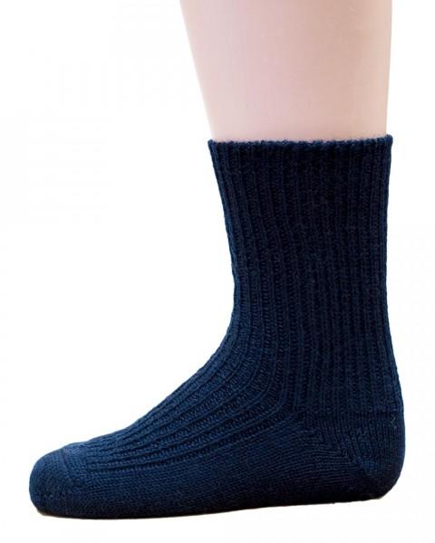 Kinder und Baby Socken, Hirsch Natur, 100% Wolle (kbT), 3 Farben