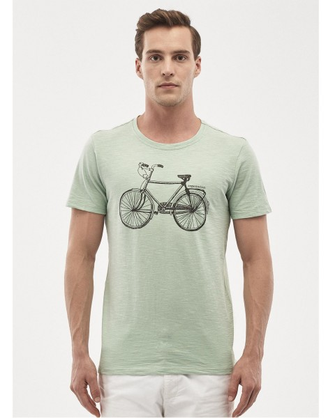Herren T-Shirt Bike, 100% Baumwolle (kbA)