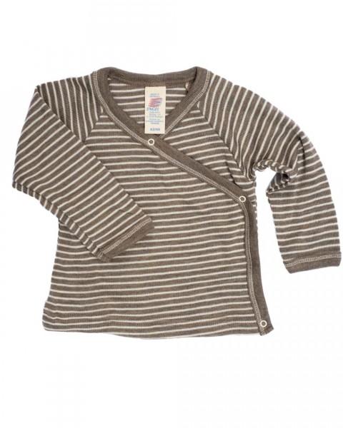 Baby Wickelshirt, Wolle Seide
