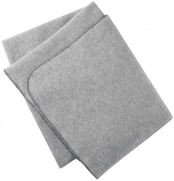 Engel Natur, Decke mit Muschelkante, 100% Wolle (kbT)