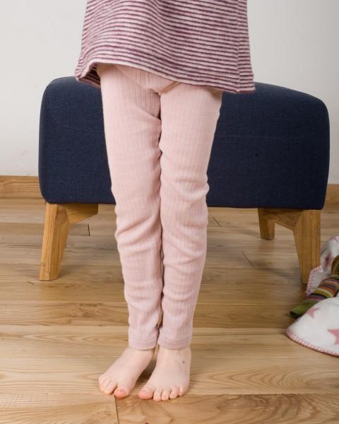 Cosilana, Kinder Leggings / lange Unterhose, 45% Baumwolle, 35% Wolle, 20% Seide